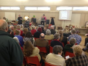 Auction at Badger Farm Community Centre