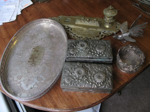 Collection of Metalware
