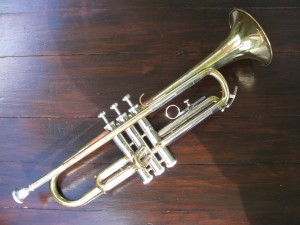 Trumpet – Made by Schenkelaars (Dutch equivalent of Boosey & Hawkes)