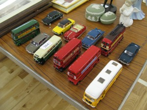 Corgi vehicle collection