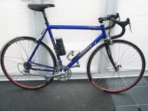 Ruxley Cycles Aluminium Frame Campagnolo components