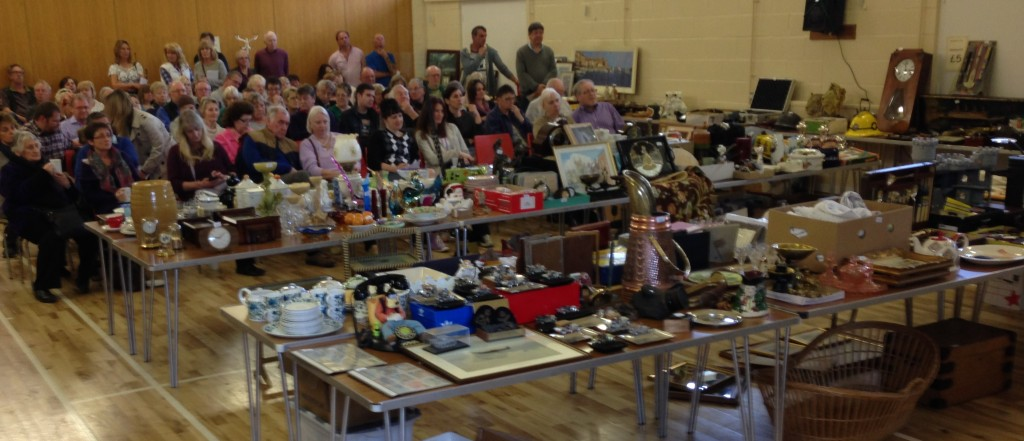 Auction at Badger Farm Community Centre, Winchester, Hampshire