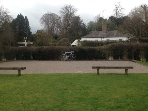 Behind the Boules Pitch