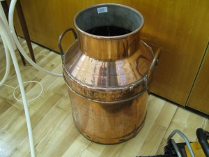 Copper Milk Churn - Umbrella Stand