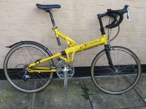 Airnimal Chameleon Folding Bike