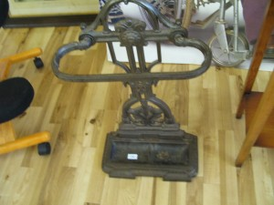 Lot 140 - Edwardian Cast Iron Umbrella Stand - Sold for £50