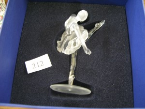 Lot 212 - Swarovski Ballerina - Sold for £43