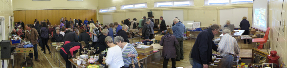 Auction viewing at Badger Farm Community Centre, Winchester, Hampshire
