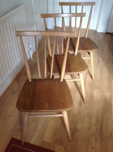 Ercol Kitchen Chairs