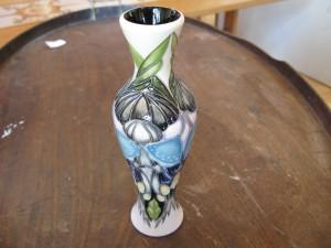 Lot 307 - Moorcroft vase - Sold for £60