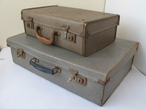A pair of Vintage Suitcases