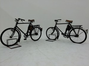 Two  Swiss Army Bikes