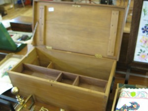 Lot 207 - Pine chest - Sold for £28