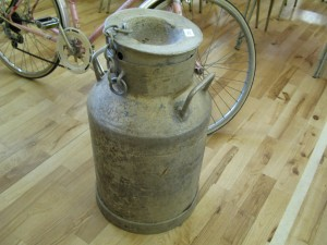 Lot 320 - Milk Churn - Sold for £37