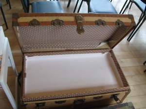 Lot 64 - Travel Trunk - Sold for £35