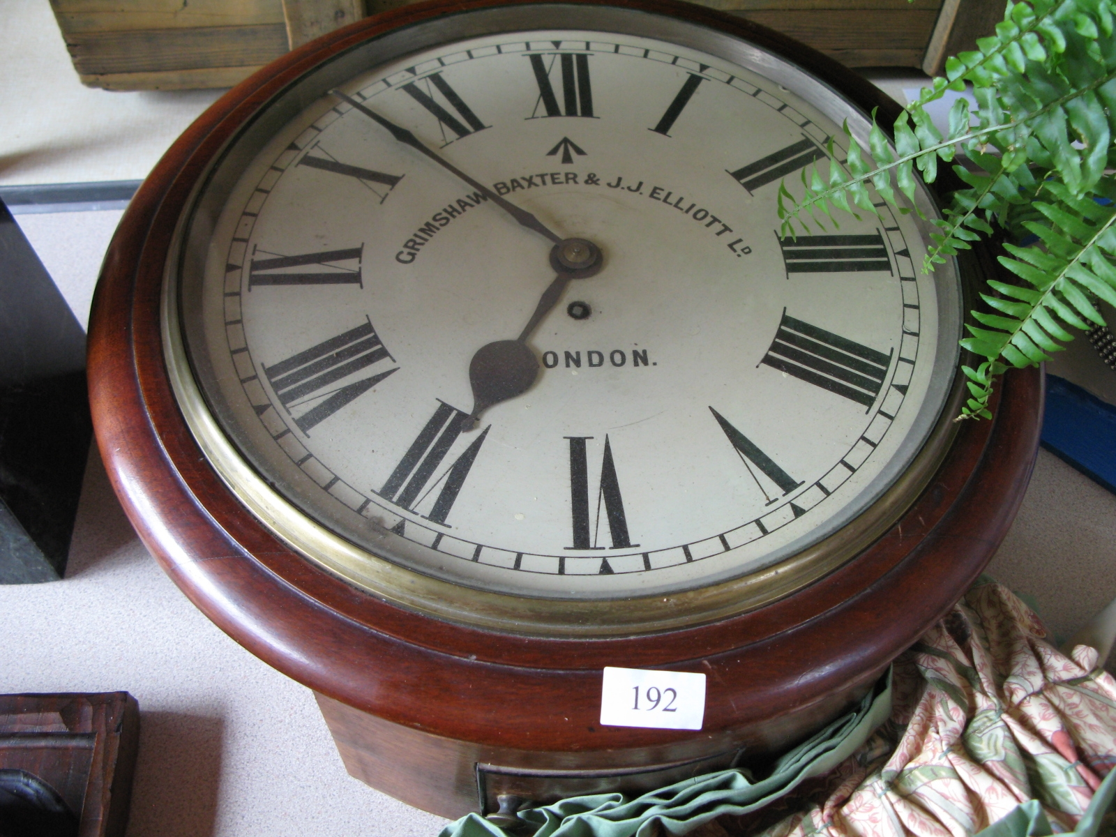 Station Clock - Sold for £140