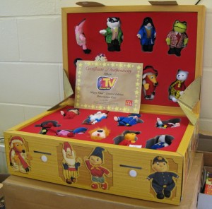 Lot 10 - Happy Meals TV Favourites in Presentation Case - Sold for £60
