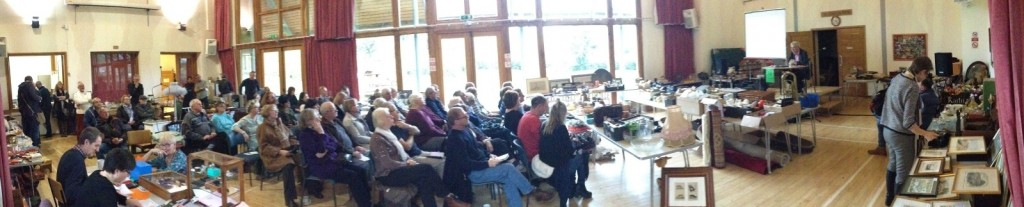 Buyers at our December 2015 auction at Itchen Abbas Village Hall