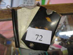 Lot 72 - Tortoiseshell aide memoire - Sold for £55