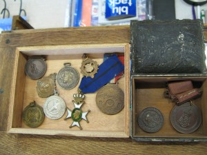 Lot 127 - Collection of medals military and civilian - Sold for £30