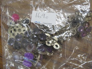Lot 169c - Bag of costume jewellery - Sold for £50