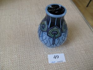 Lot 49 - Moorcroft vase - Sold for £45