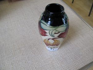 Lot 51 - Moorcroft vase - Sold for £55