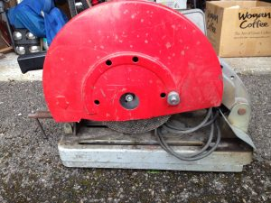 Stayer TV 300 metal cutter - Dusty but hardly used.