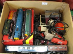 Lot 37 - Hornby train collection - Sold for £90