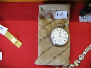 Lot 135 - Waltham Watch and Cigar Cutter - Sold for £70