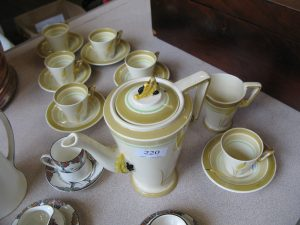 Lot 220 - Retro Coffee Set - Sold for £40