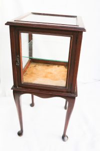 Lot 165 - Display cabinet - Sold for £50