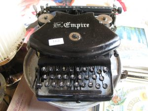 Lot 164 - The Empire Typewriter - Sold for £40