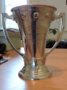 Lot 229 - Trophy Cup London 1926 Ed Barnard 761 Grams - Sold for £215