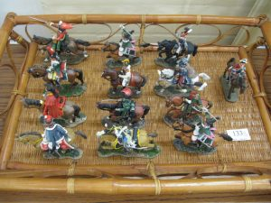 Lot 133 - 13 x Napoleonic model soldiers - Sold for £30