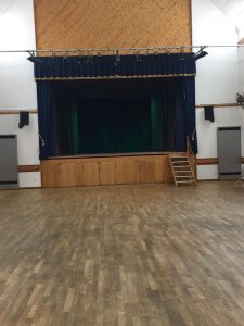 Otterbourne Village Hall Stage