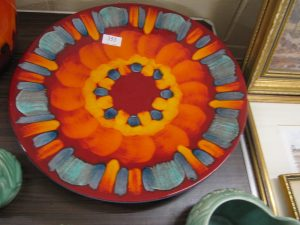 Lot 353 - Poole Pottery dish -  Sold for £35