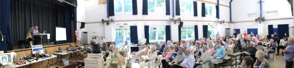 Otterbourne Village Hall Auction Panorama