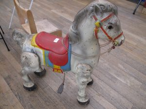 Lot 327 - Mobo Pedal Horse - Sold for £37