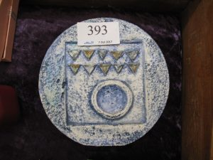Lot 393 - Small Troika Vase - Sold for £40