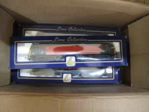 Lot 473 - Collection of Lime locomotives in their boxes - Sold for £35