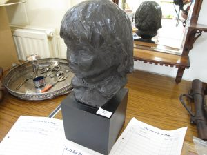 Lot 83 - Copy of Head of Coco by Renoir - Sold for £40