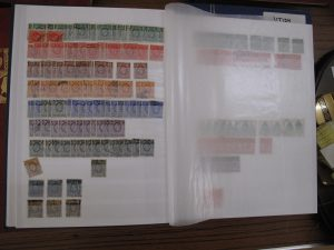 Lot 195 - Collection of mainly British stamps - Sold for £70