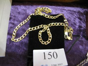 Lot 150 - Gold Chain - Sold for £40