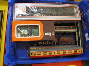 Lot 90 - Leira Model Trains - Sold for £40