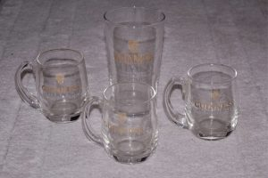 Vintage Guinness Glasses