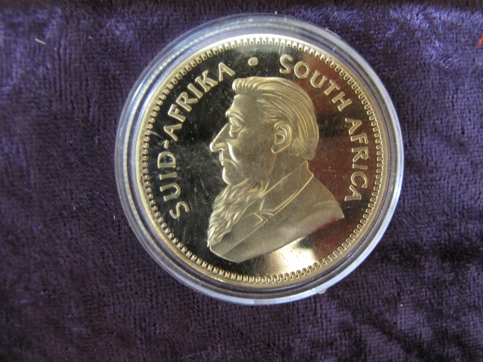 Lot 240 - Krugerrand - Sold for £130