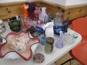 Lot 418 - Collection of art glass - Sold for £35