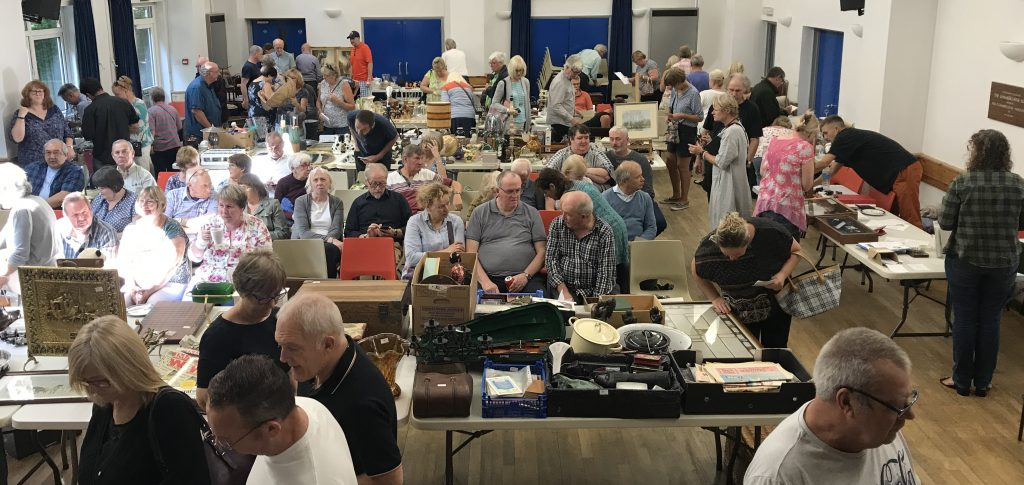 Auction at Otterbourne Village Hall 2 March 2019