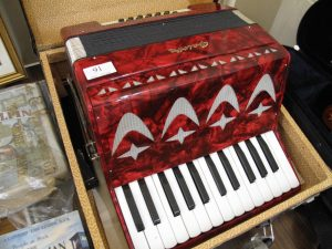 Lot 91 -Galletta Accordion - Sold for £45